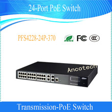 DAHUA Support IEEE802.3af&IEEE802.3at standard 24-Port Two-layer network management PoE Switch Without Logo PFS4228-24P-370