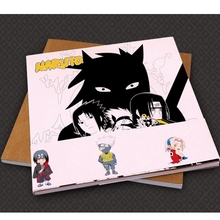Creative Fashion! Naruto antistress Colouring Book for adults children Relieve Stress Painting Drawing anime coloring book gifts(China)