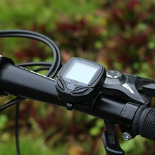 Wireless LCD Cycling Bicycle Computer Bicycle Meter Speedometer Odometer For Bike Best Black Newest