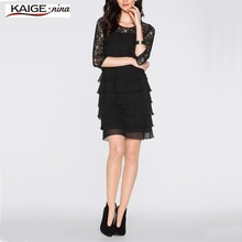 Buy Kaige.Nina New Fashion Hot Sale Women Lace Dress O-Neck Black Evening Party Dresses Vestido de festa Brasil Trend 2307 for $12.06 in AliExpress store
