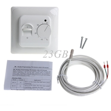 2017 Floor Heating Thermostat Air Condition Temperature Controller Switch 16A 220V MAR21_15(China)
