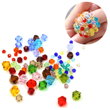 4MM Crystal Jewelry Components (115PCS/LOT)New Design For DIY Neckless Making And Bracelect,Crystal Glass Bicone Beads For Women