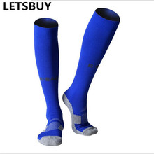 high quality terry towel sweat comfortable soft colorful football soccer socks male female outdoor sports running traning