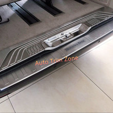 Exterior Stainless Steel Rear Trunk Inner&Outer Protecting Plate 4PCS For Mercedes Benz Vito 2014-2017 W447
