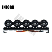 Multi-function LED Light Lamp Bar for RC Rock Crawler Axial SCX10 90046 D90 Jeep Wrangler Traxxas TRX-4 HPI HSP Tamiya RC Car(China)