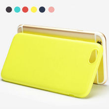 Silicone Case For iPhone 5S SE Matte Candy Colors Soft TPU Case Cover For 6 6s 4.7inch Full Protection Covers For iPhone 6s Plus
