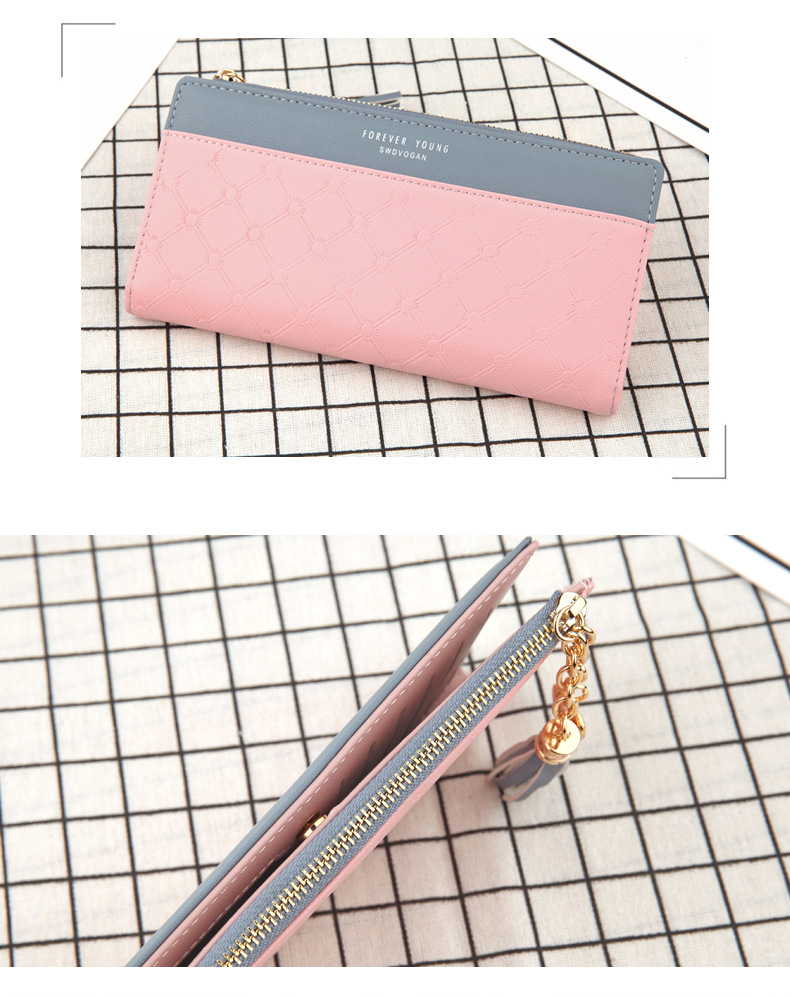 2018 Fashion Ladies Wallet Female Short Zipper Coin Purse Small Wallets Young Womens Tassel Hasp Purses Button Card Holder Pouch 89
