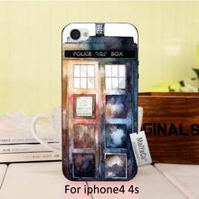 Popular  Door DIY Painted Beautiful phone Accessories For case iPhone 4 4s