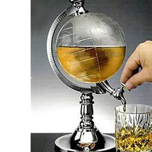 New arrival 1.5L Mini Globe Wine Pourer Wine Rack Dispenser Barware Beer Beverage Alcohol Pouring Machine(China)