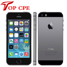"Apple iPhone 5S A1457 Original Dual Core 4"" IPS Phone 8MP 1080P GPS IOS LET Unlocked Used iphone 5S 16GB/32GB/64GB Mobile Phone(China)"
