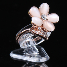 New models portable  ring show  display nice  ring box ring holder jewelry Ring holder with good quality best price nice service