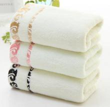creative gift advertising towel jacquard weave various colors towel(China)