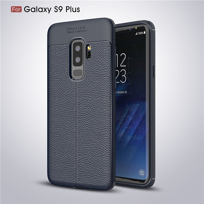 Lenuo case for Samsung Galaxy S9 Plus explosion-proof TPU soft mobile phone cover for Samsung Galaxy S9+ silicone shell cases 18
