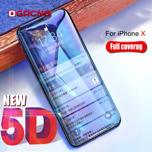 Buy 5D Curved Edge Full Cover Tempered Glass iPhone 7 8 Plus 6s 6 Plus Premium Screen Protector Film iPhone X 8 7 Glass for $2.79 in AliExpress store