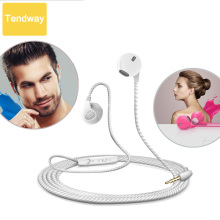 Tendway Earphones For iPhone 6 6S 5 5S Headphones With Microphone 3.5mm Jack Bass Auricuares Headset For Apple Xiaomi Sony