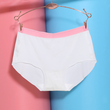 Buy 1PC Sexy Women Traceless Briefs Newest Panties Ice Silk Cool Intimates Knickers Seamless Underwear Sleepwear Summer for $1.29 in AliExpress store