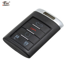 DANDKEY Brand New Replacement Shell Remote key Case Fob 5 Button For CADILLAC ATS SRX STS CTS DTS with logo