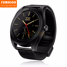 2017 Promotion Top Fashion Answer Call Remote Control Message Reminder Cacgo K89 Bluetooth 4.0 Heart Rate Monitor Smart Watch(China)