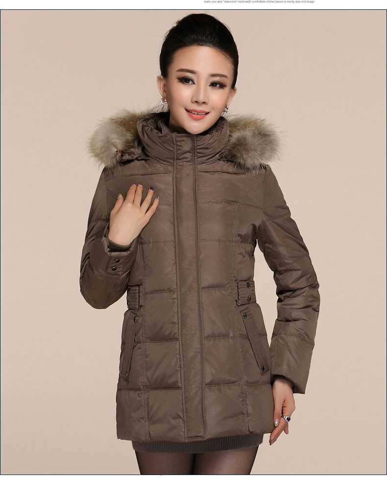 Women Down Jackets 2015 New Winter Big Yards Thick Collar Overcoat Hooded Coat Female Padded Down Jacket Parkas XXXL H4659Одежда и ак�е��уары<br><br><br>Aliexpress