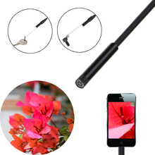5.5mm 10m 2 in 1 Digital USB Endoscope Borescope Handheld Inspection Snake Camera 6 Led for Android Smartphones/Laptops(China)