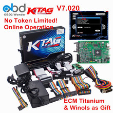 2017 Ktag ECU Programming Tool Master Version Hardware 7.020 K tag 100% No Token Limited K-tag V7.020 FREE ECM Titanium & WinOLS