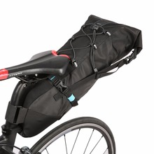 ROSWHEEL TOP Qualitty ATTACK Bicycle Back Seat Rear Bag Waterproof Bicycle Seatpost Saddle Seat Pannier Cycling Storage Pack(China)