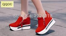 Sponge cake woman Low to help shoe Within the higher fashion Europe Leisure shoe tourism shoe 2016 The New