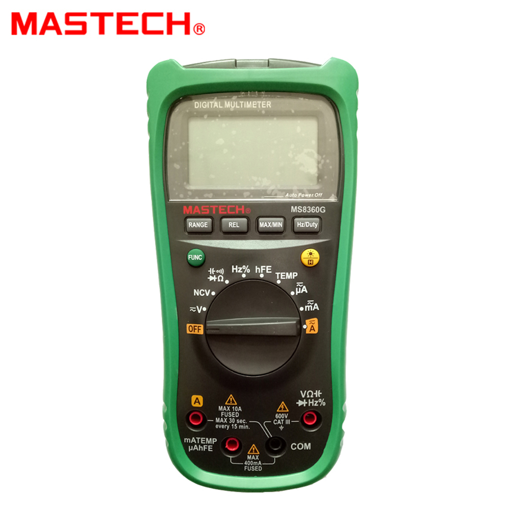 Newest MASTECH MS8360G Auto Range Digital Multimeter ohm voltage current Capacitance Frequency Temperature Meter upgrade MS8260G<br>