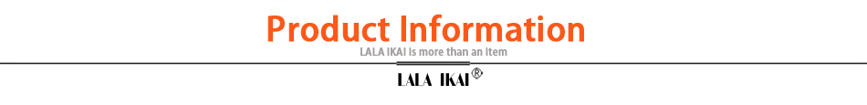 1.LALA IKAI Product information