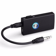 2-In-1 Wireless Bluetooth Speaker Audio Music Switchable Transmitter Receiver for Speakers TV Car Dropshipping(China)