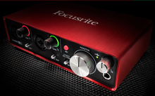 New Original FOCUSRITE Scarlett 2i2 II Guitar recording audio interface USB2.0 sound card Promotions Cheaper free shipping(China)