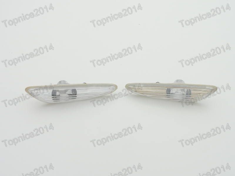 2Pcs OEM Left &amp; Right Side turn signal Fender lights Side lamps For BMW 3-Series E46 2001-2004<br><br>Aliexpress