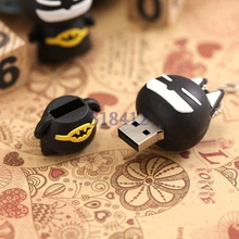 Promotion Gift usb flash dirve hero batman spiderman altman cat 4gb 8gb 32gb 64gb Memory Usb Stick Pen drive pendrive U disk