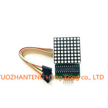 Dot matrix display module MAX7219 single-chip control module DIY kit for arduino
