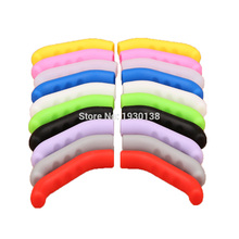 universal MTB mountain bike brake lever grip case silicone lever protector for AVID FR5 Giant Merida bike part(China)