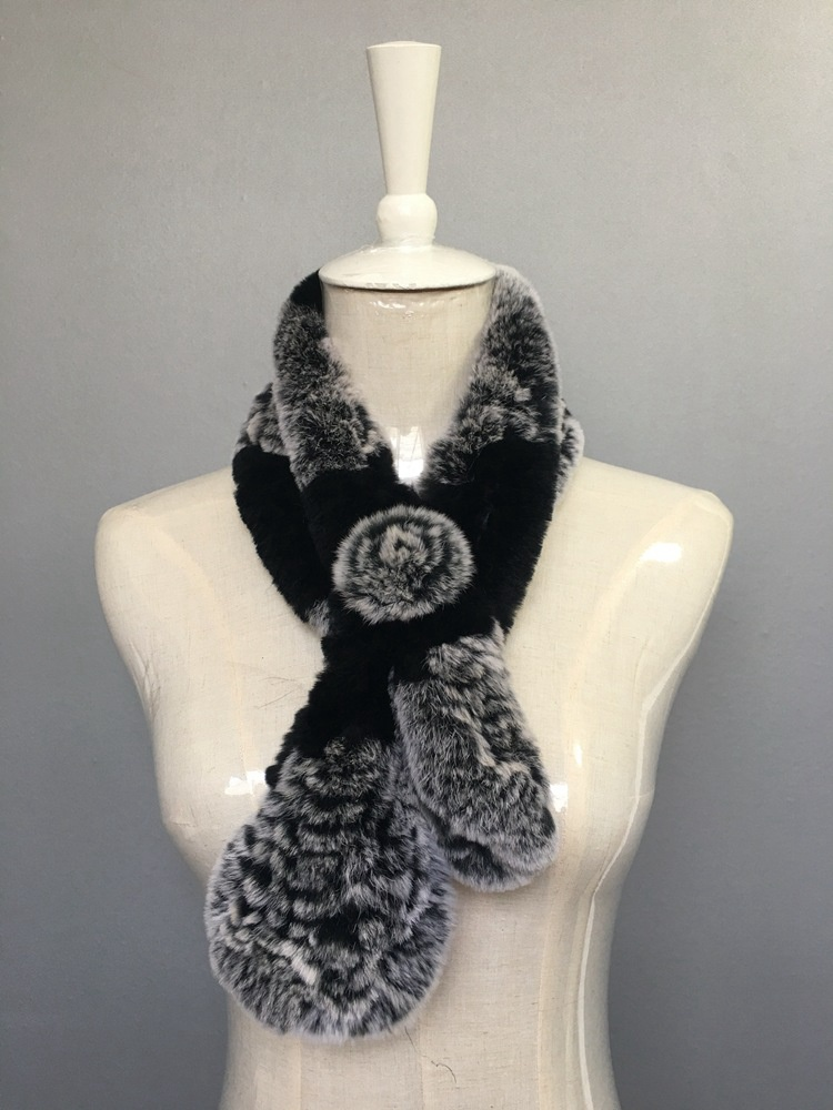 natural rabbit fur scarves (1)