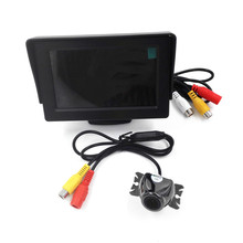 Brand New 4.3 inch Digital TFT LCD Car Video Monitor Camera + Car RearView Reverse Backing CMOS Camera