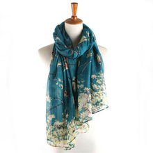 2017 New Fashion Design Soft Thin Cotton Voile Scarf Women Animal Bird printed Scarves Shawls Foulard Sjaal Cachecol Feminino