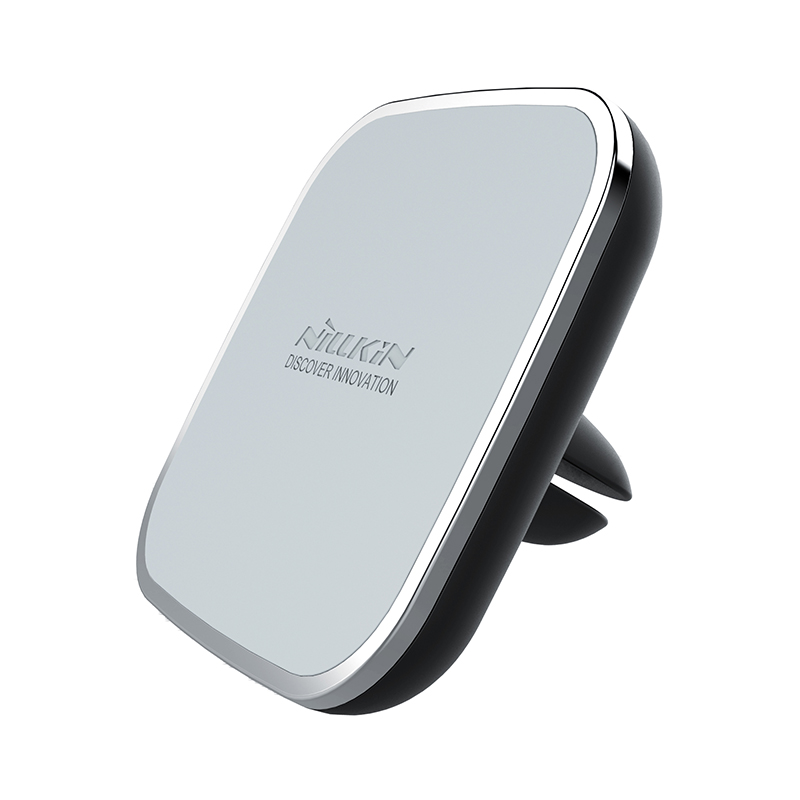 Nillkin car qi wireless charger holder magnetic air vent mount pad for samsung s6 s7 s7 edge