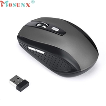 mosunx E5 Best Mecall Tech 2.4GHz Wireless Gaming Mouse USB Receiver Pro Gamer For PC Laptop Desktop