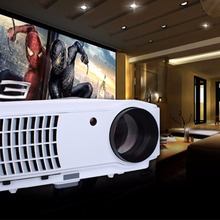 Brand new 1024*768 RD-804 New projector led TV AV VGA A/V USB & SD with VGA HDMI HDTV USB Video LED HD Projector