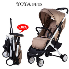 New Travel Baby Stroller Portable Folding Umbrella Stroller And Easy Carry Bebek Arabasi Super Light Baby Stroller(China)