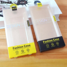 For iPhone 7 6s Plus Cover Samsung S8 S7 Note TPU PC Case Package PVC Plastic Blister Box Universal Retail Packaging 500 pcs/lot