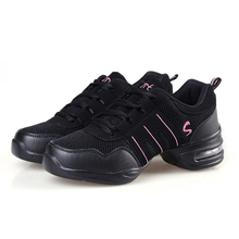 DS001 EU35-42 Sports Feature Soft Outsole Breath Dance Shoes Sneakers For Woman Practice Shoes Modern Dance Jazz Shoes Discount