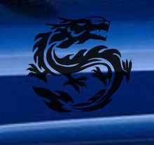Car Sticker Chinese Dragon Vinyl Art Decals Decorative Graphics Auto Stickers