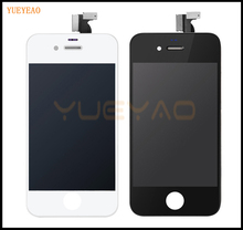 YUEYAO High Quality For iPhone 4 4S LCD Display Digitizer With Touch Screen Assembly Replacement
