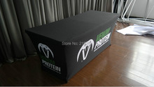 6ft Spandex Table throw, Advertising Spandex Table Cover, Exhibition Table Cover (free shipping)