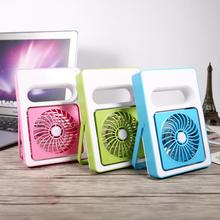 Mini Portable USB Rechargeable Electric Fan Desk Handheld Fans Practical for Student Home Office Air Conditioner Cooler