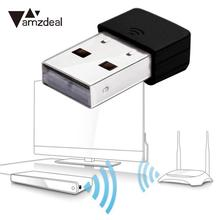 amzdeal For Mini 150Mbps USB WiFi Router Network Card Adaptor Adapter Dongle Direct RTL5370  IEEE 802.11n