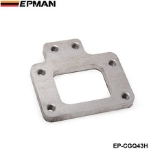 EPMAN - T2 T25 T28 GT28 Stainless Steel Weld On Turbo Manifold Exhaust Flange For Nissan EP-CGQ43H(China)
